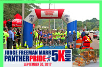 2017 Judge Freeman Marr Panther Pride 5K
